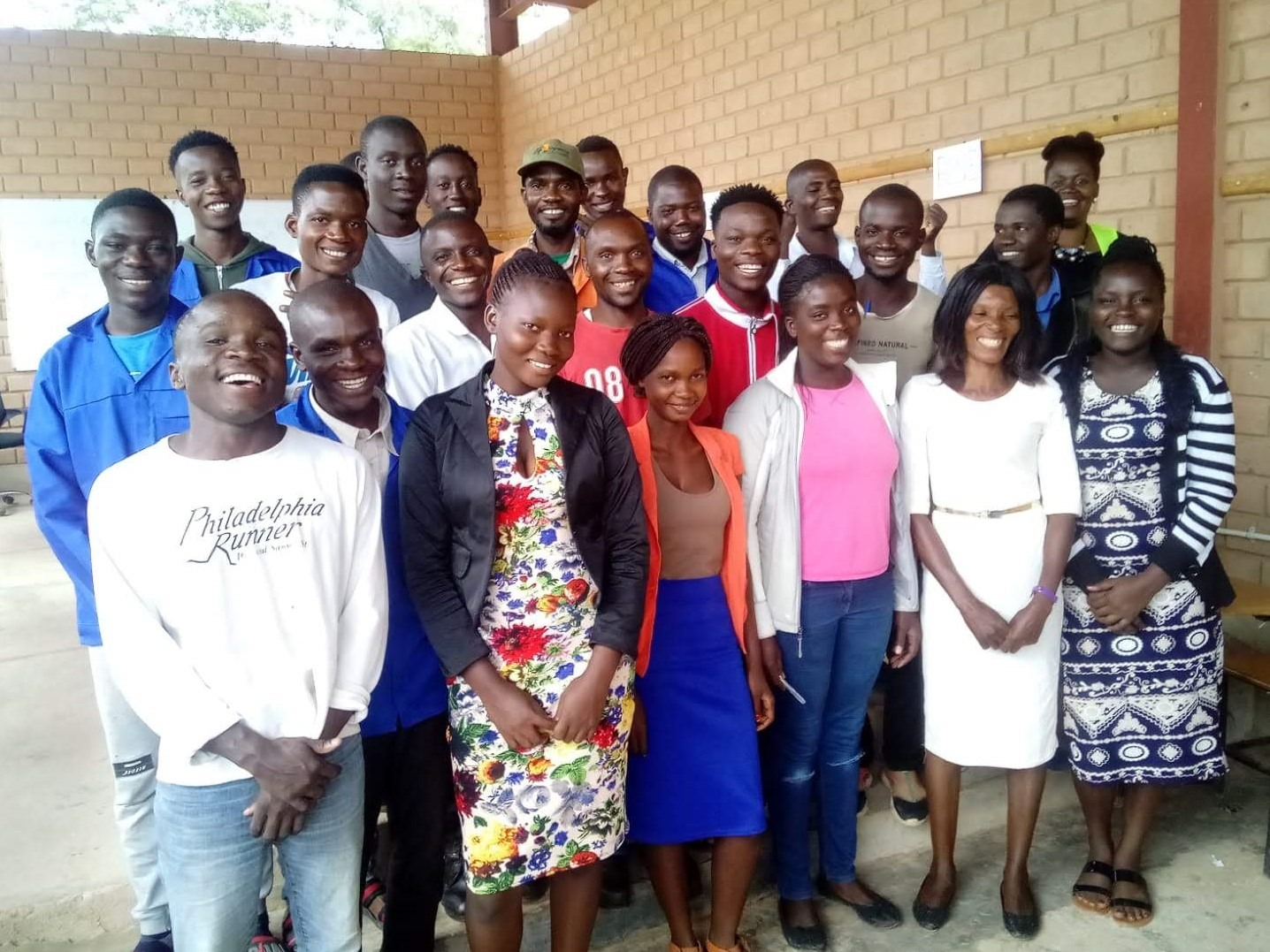 2020 trainees at the Centre for Excellence