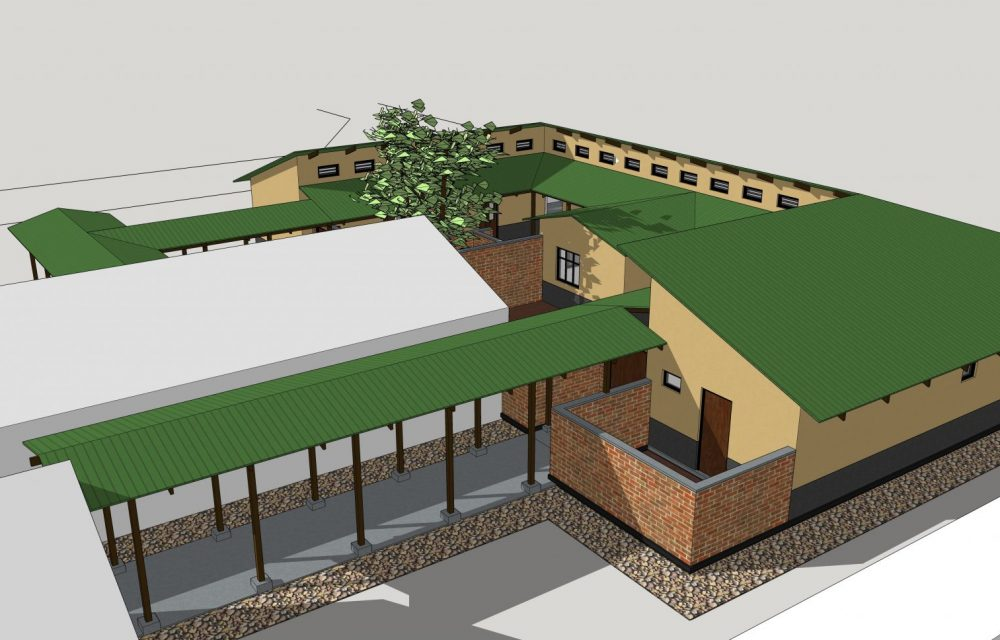 Proposed new maternity ward at Libuyu Health Centre