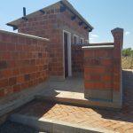 Male side of the latrine block at Light of Hope Community School