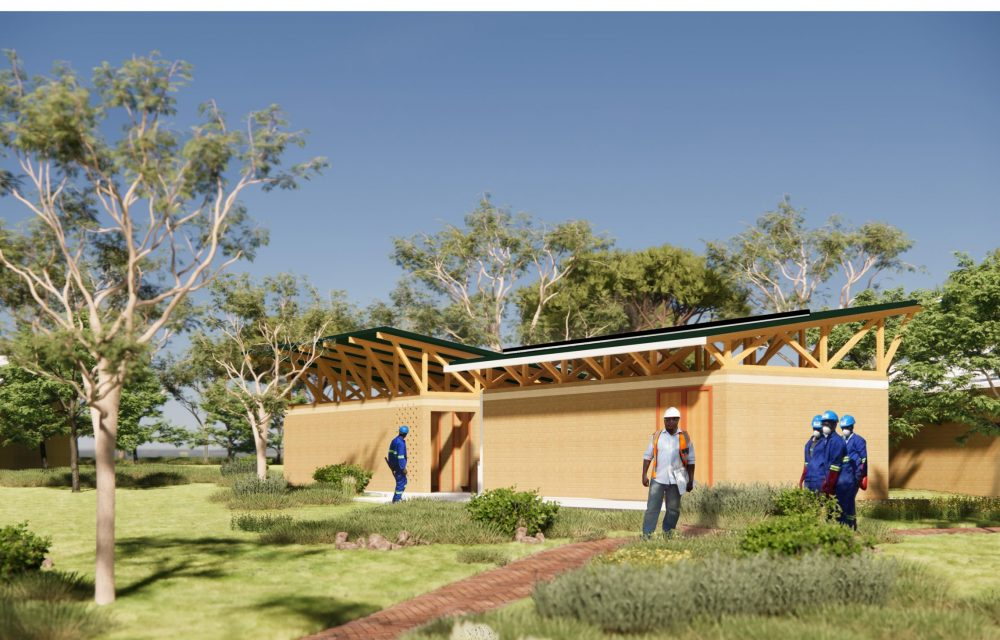 Image of the Student Toilet Block at the Centre for Excellence