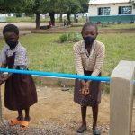 Pupils at Chombela Primary School washing their hands - Safe Hands